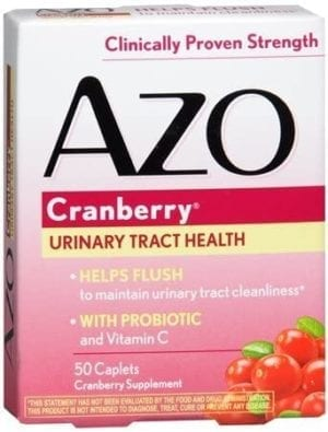 AZO Cranberry Tablets 50 ea(PACK OF 2
