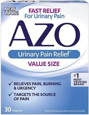 AZO Urinary Pain Relief Tablets 30 ea (Pack of 2)