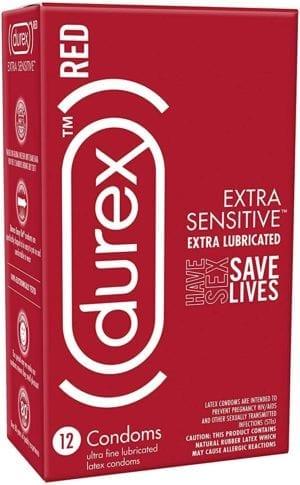 Durex RED Extra Sensitive Condoms