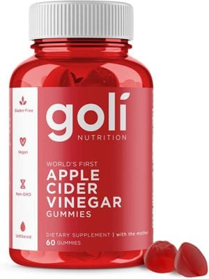 Apple Cider Vinegar Gummy Vitamins by Goli Nutrition - Immunity & Detox - (1 Pack