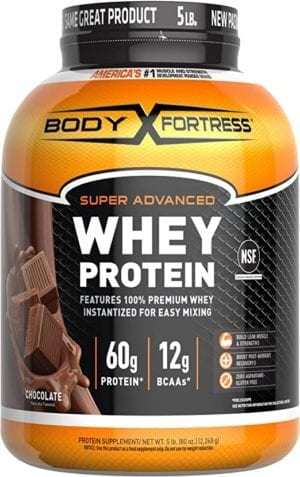 Body Fortress Super Advanced Whey Protein Powder(Gluten Free/Packaging May Vary)